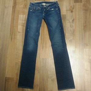 True Religion Billy Straight Stretch Jeans